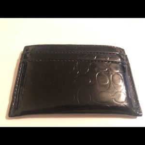 Coach card wallet.